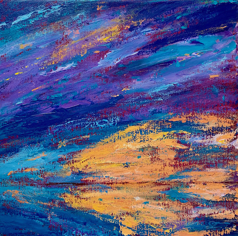 Sunset Song painting by Marcia Crumley