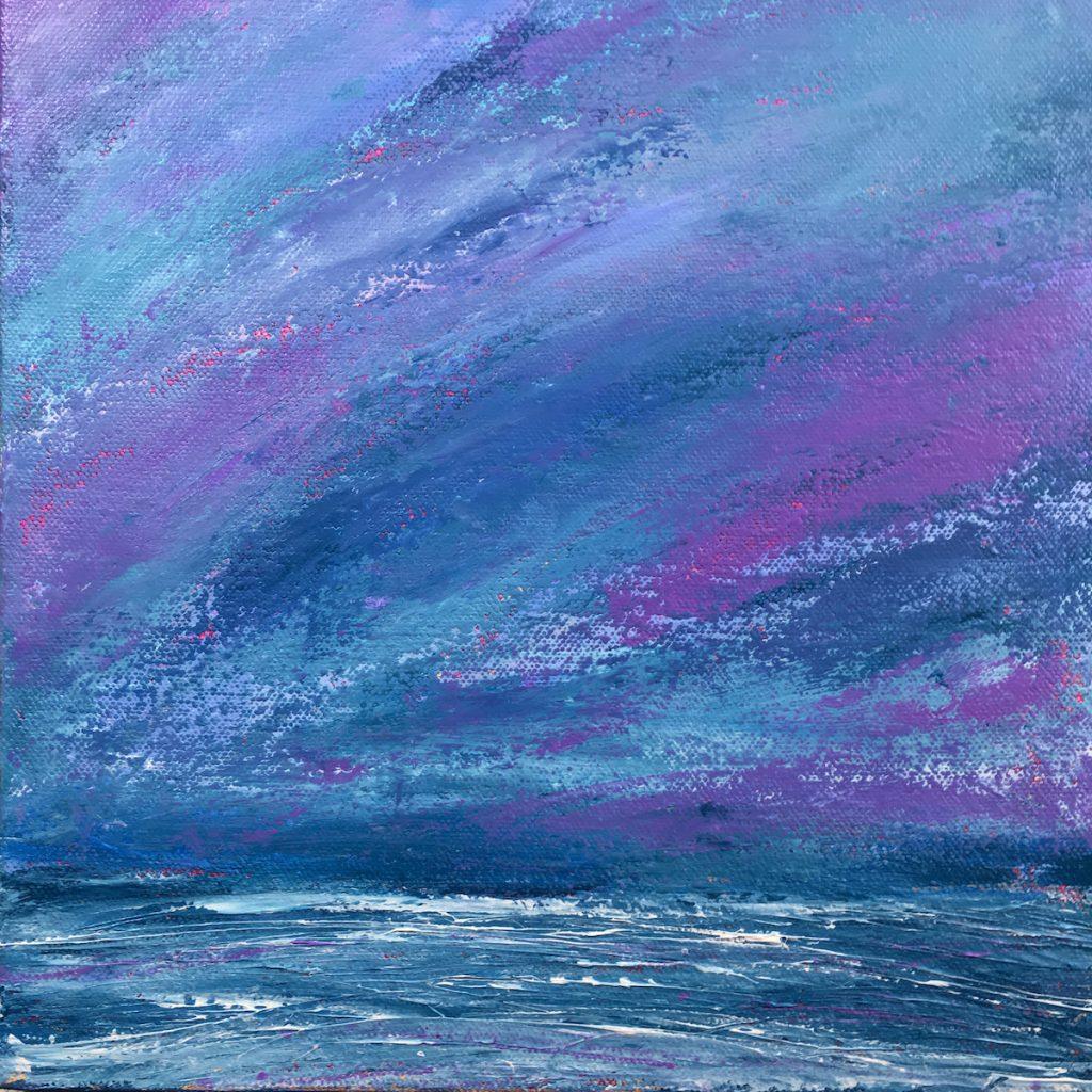 Purple Haze by Marcia Crumley, Acrylic on Canvas