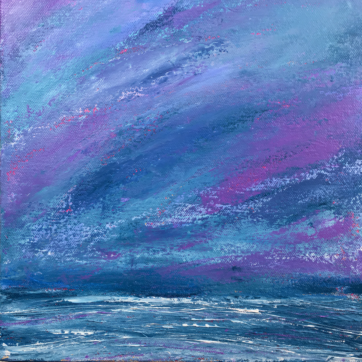 Purple Haze by Marcia Crumley, Acrylic on Canvas
