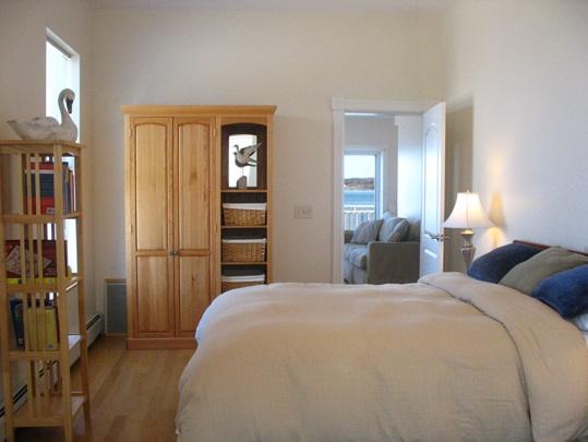 Bedroom in Tidewatcher Suite