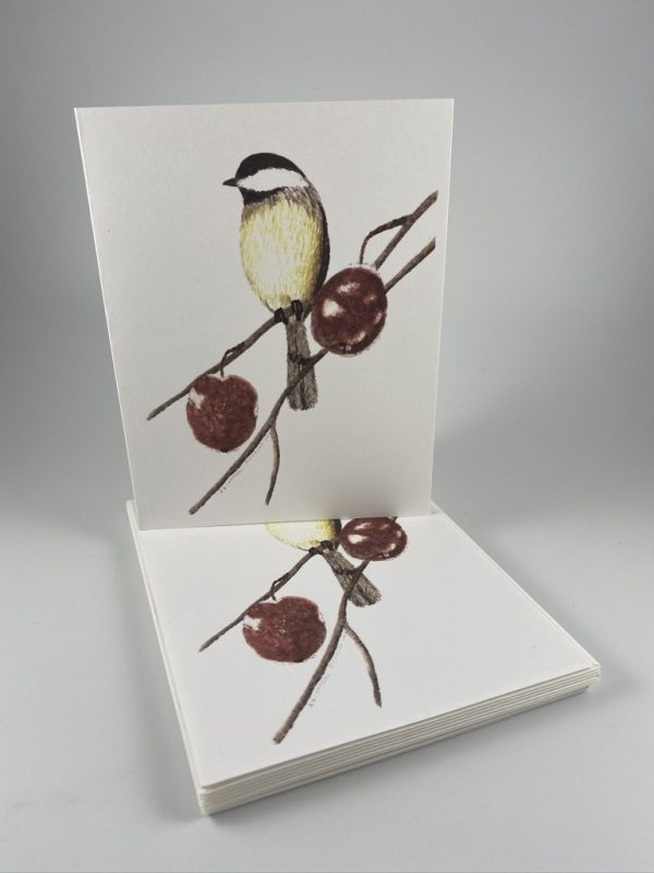 Bird with Berries Card Set