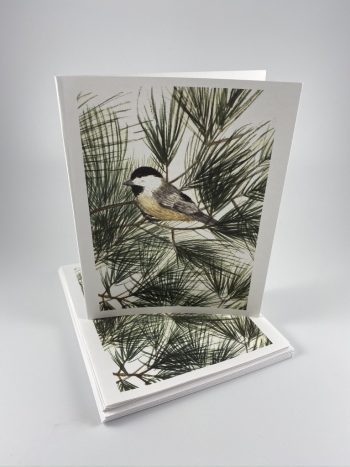 chickadee card set