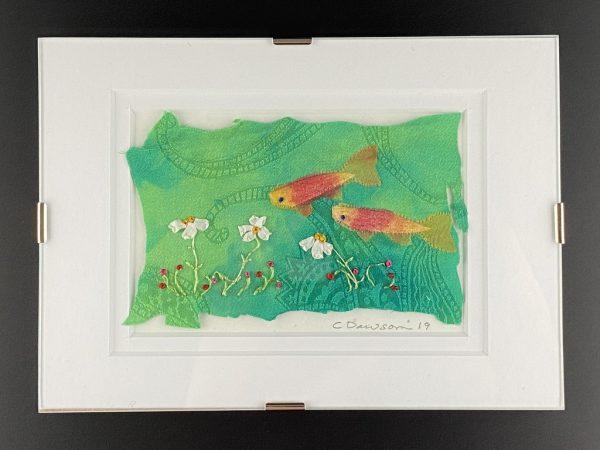 Fish on Garden Tour by Kate Dawson