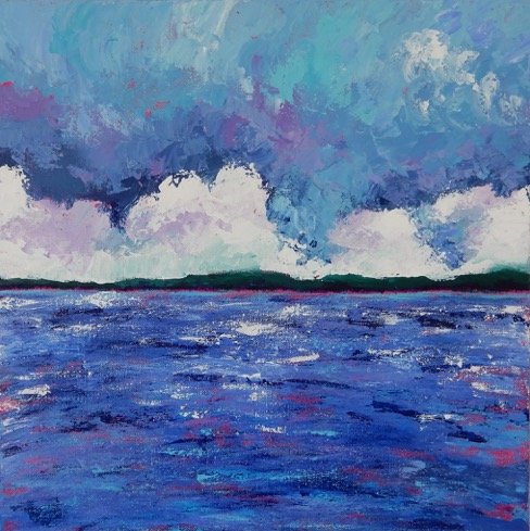 Fast Moving Skies by Marcia Crumley, Acrylic on Canvas