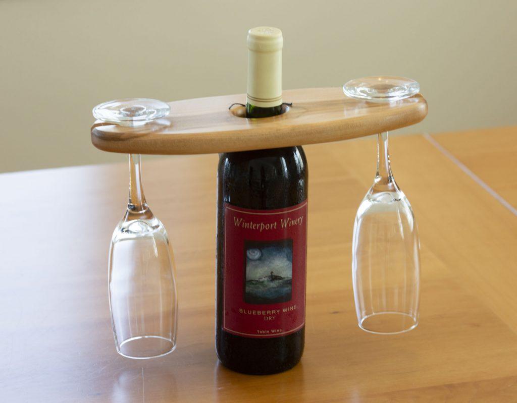 Wine caddie by Charlie Hinkel